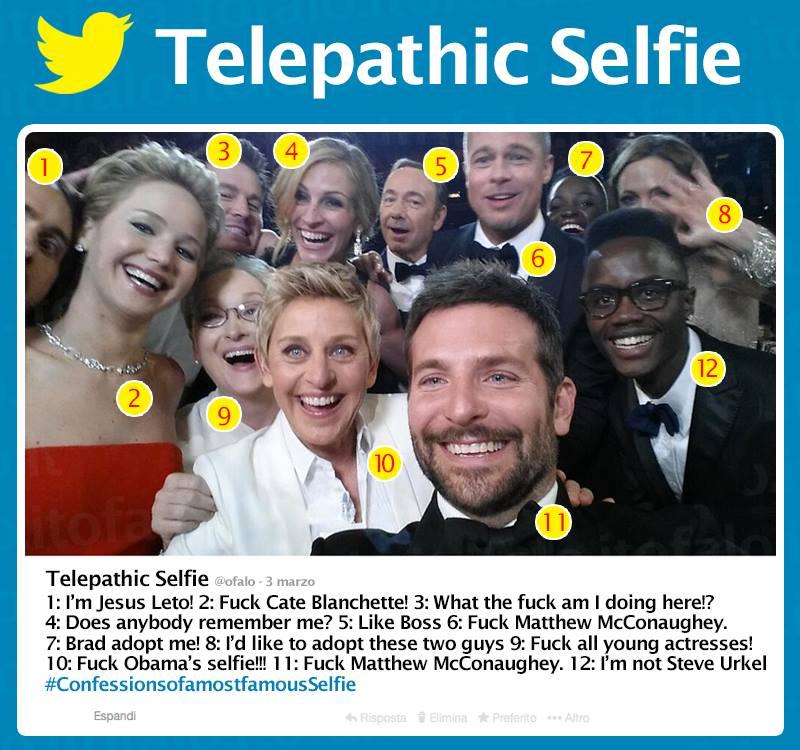 telepathic selfie